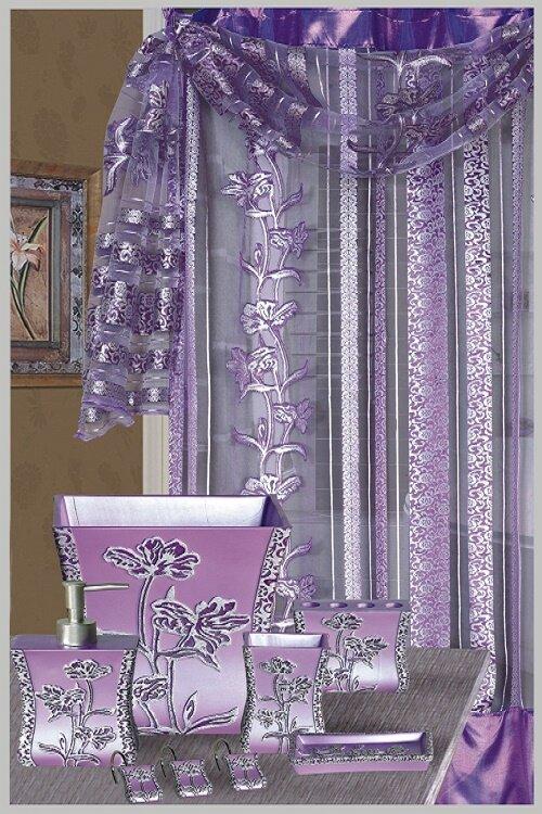 Paris Decorative Single Shower Curtain