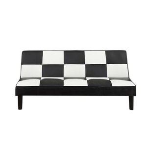 Chavis Faux Leather Adjustable Convertible Sofa