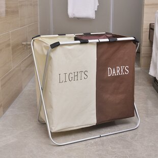 Best Price Oxford Laundry Basket By Rebrilliant