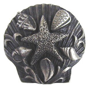 Seaside Collage Tropical Novelty Knob