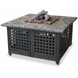 99LP Cast Iron Propane Fire Pit Table