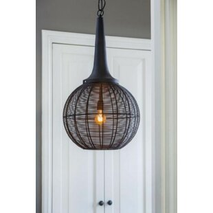 Chloe 1-Light Pendant by Wrought Studio