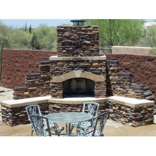 Kokomo Grills Santa Fe Stone Gas Outdoor ..
