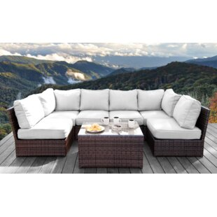 Grandstaff 7 Piece Sectional Set with Cushions