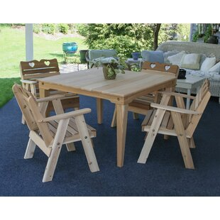 Marcus Country Hearts 5 Piece Dining Set