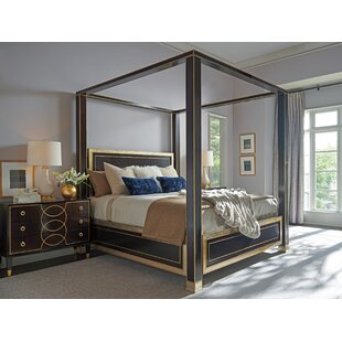 Carlyle Four Poster Solid Wood Configurable Bedroom Set