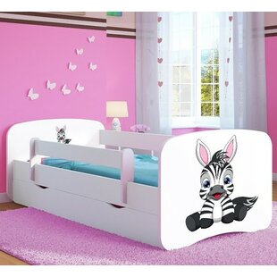 Caswell Convertible Toddler Bed With Drawers By Zoomie Kids