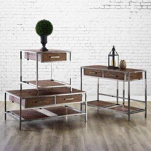 Brayden Studio Falkner 3 Piece Coffee Table Set