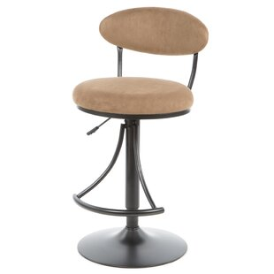 Elon 30 Adjustable Height Swivel Bar Stool Latitude Run