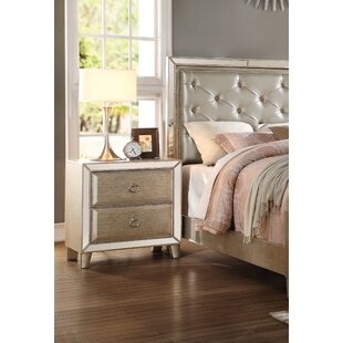 Hester 2 Drawer Nightstand by Rosdorf Park