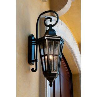 Darby Home Co Nussbaum 3-Light Outdoor Wall Lantern