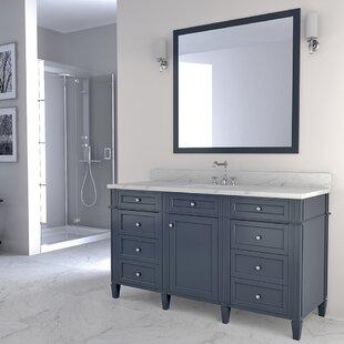 Bemidji 60 Single Bathroom Vanity Set by Charlton Home