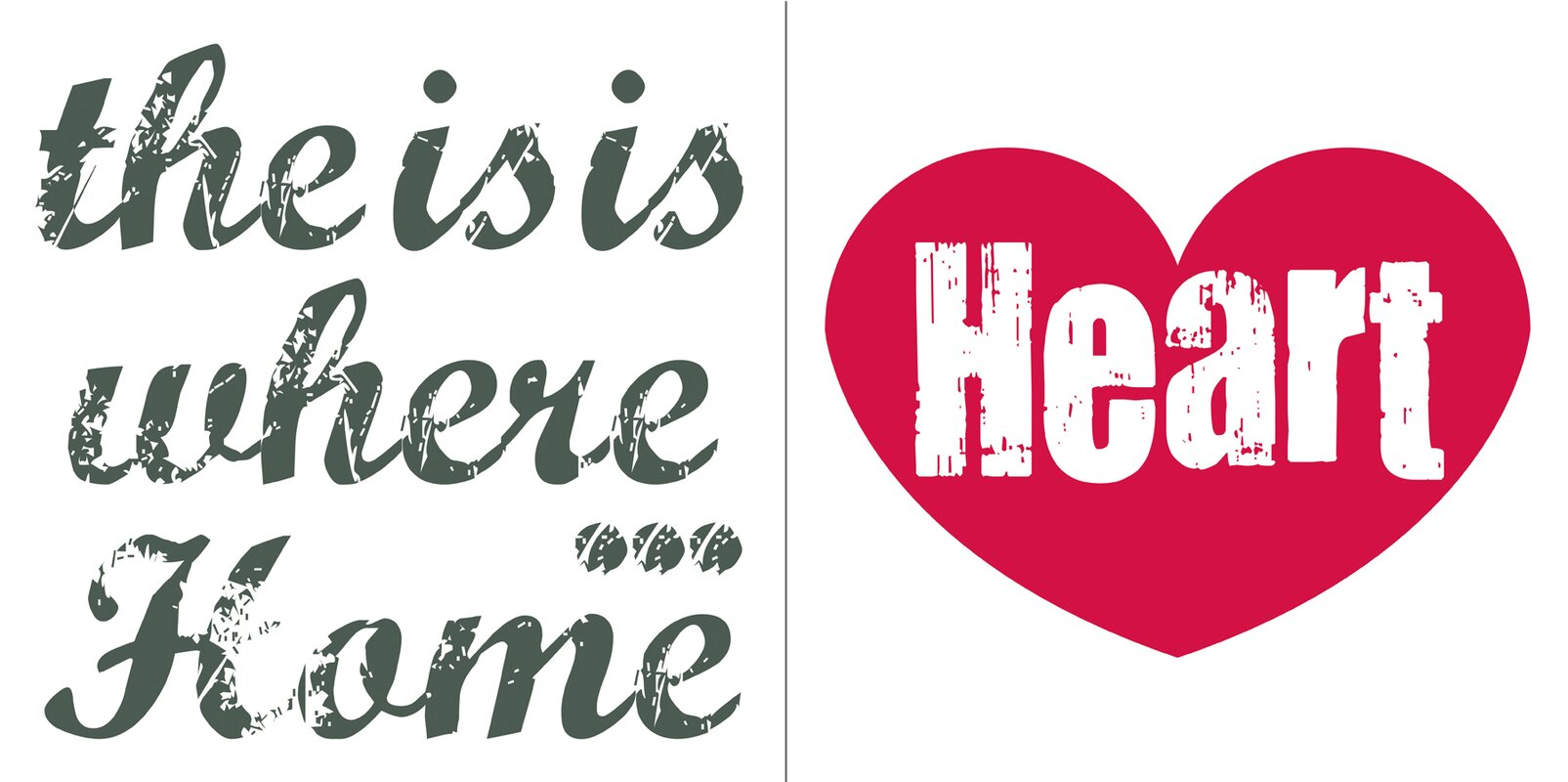 Home Is Where The Heart Is Quote Brewster Home Fashions Euro Home Is Where The Heart Is Quote Wall