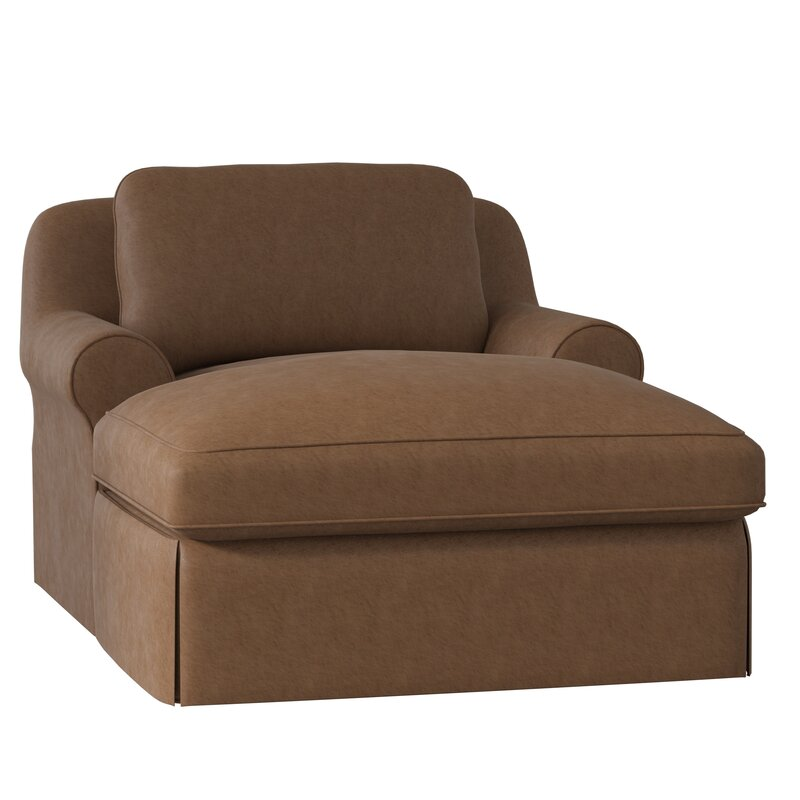 laguna stripe brown cushion chair chaise lounge patio outdoor