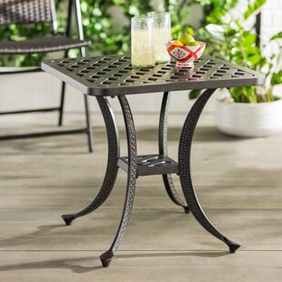 Nola Metal Side Table by Darby Home Co