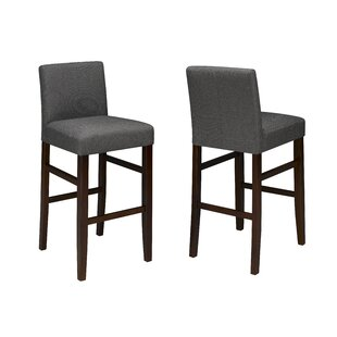 Enrico 24 Bar Stool (Set of 2) Red Barrel Studio