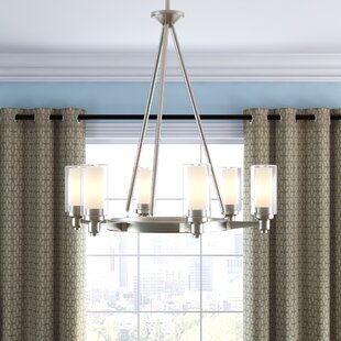 Styx 6-Light Shaded Chandelier by Latitude Run