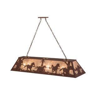Meyda Tiffany Wild Horses 9-Light Pendant