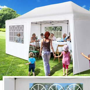 20 Ft. W x 10 Ft. D Steel Pop Up Party Tent by Sunrise Outdoor LTD