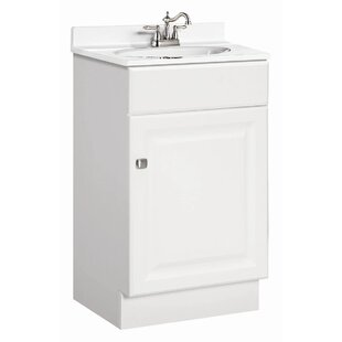 Steubenville 19 Single Door Bathroom Vanity Set by Andover Mills