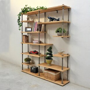 Reviews Cirillo Industrial Mid-Century Etagere Bookcase By Williston Forge