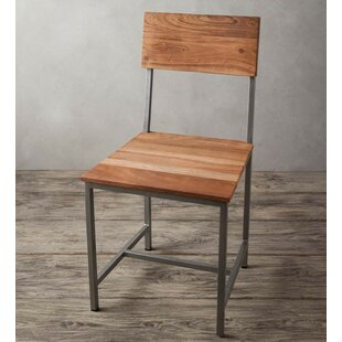 Tipps Solid Wood Dining Chair Union Rustic