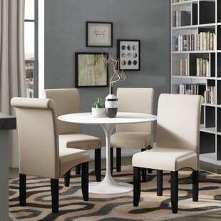 Milsons Upholstered Dining Chair Latitude Run