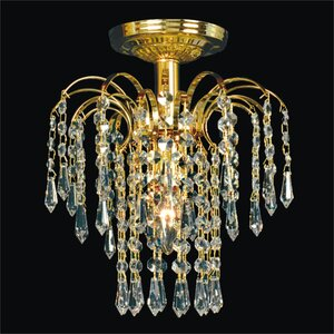 Cascade 1-Light Semi Flush Mount