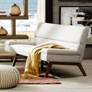 Bancroft Loveseat by INK+IVY