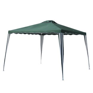 10 Ft. W x 10 Ft. D Metal Pop-Up Gazebo by ALEKO
