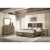 Dwain Solid Wood Platform 4 Piece Bedroom Set by Loon Peak