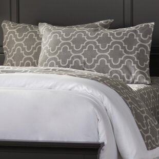 Cullen 4 Piece Geometric Cotton Flannel Sheet Set