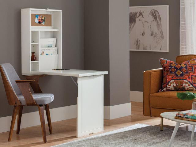 Oak Trendy White Desk Concepts Modern Living Room Design