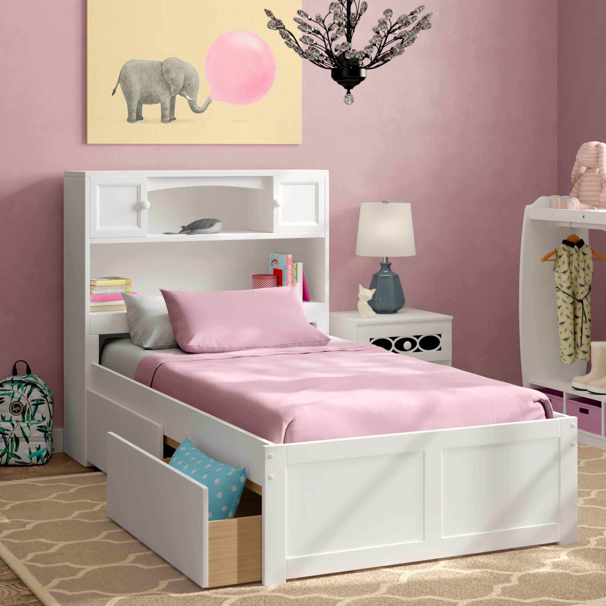 Girls Twin Kids Beds Free Shipping Over 35 Wayfair