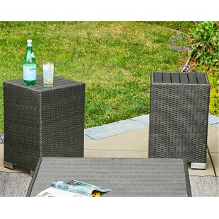 Sarver Rattan End Table Set (Set of 2)