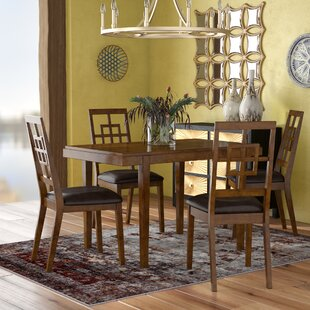 Sitz 5 Piece Dining Set World Menagerie