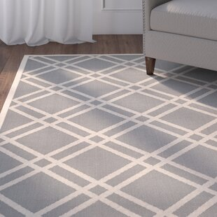 Herefordshire Gray/Ivory Indoor/Outdoor Area Rug