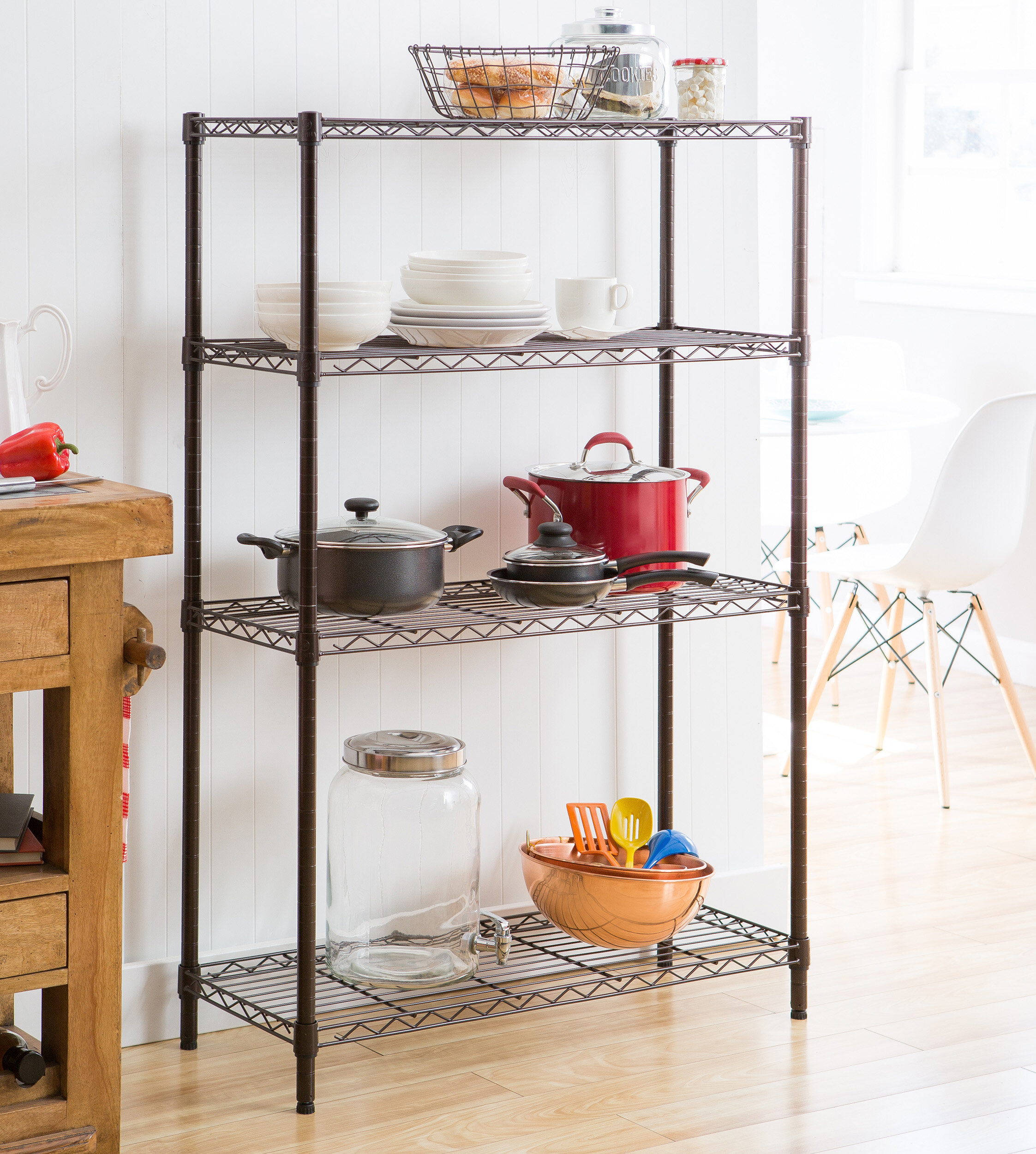 Storage Shelves Shelving Units Wayfair
