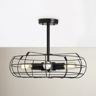 Lonerock 5-Light Semi Flush Mount by Trent Austin Design