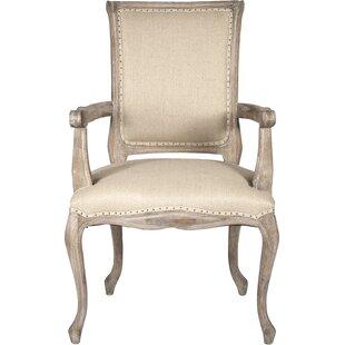 Zentique Dijon Fabric Armchair