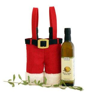 Holiday Santa Pants 2 Bottle Carrier