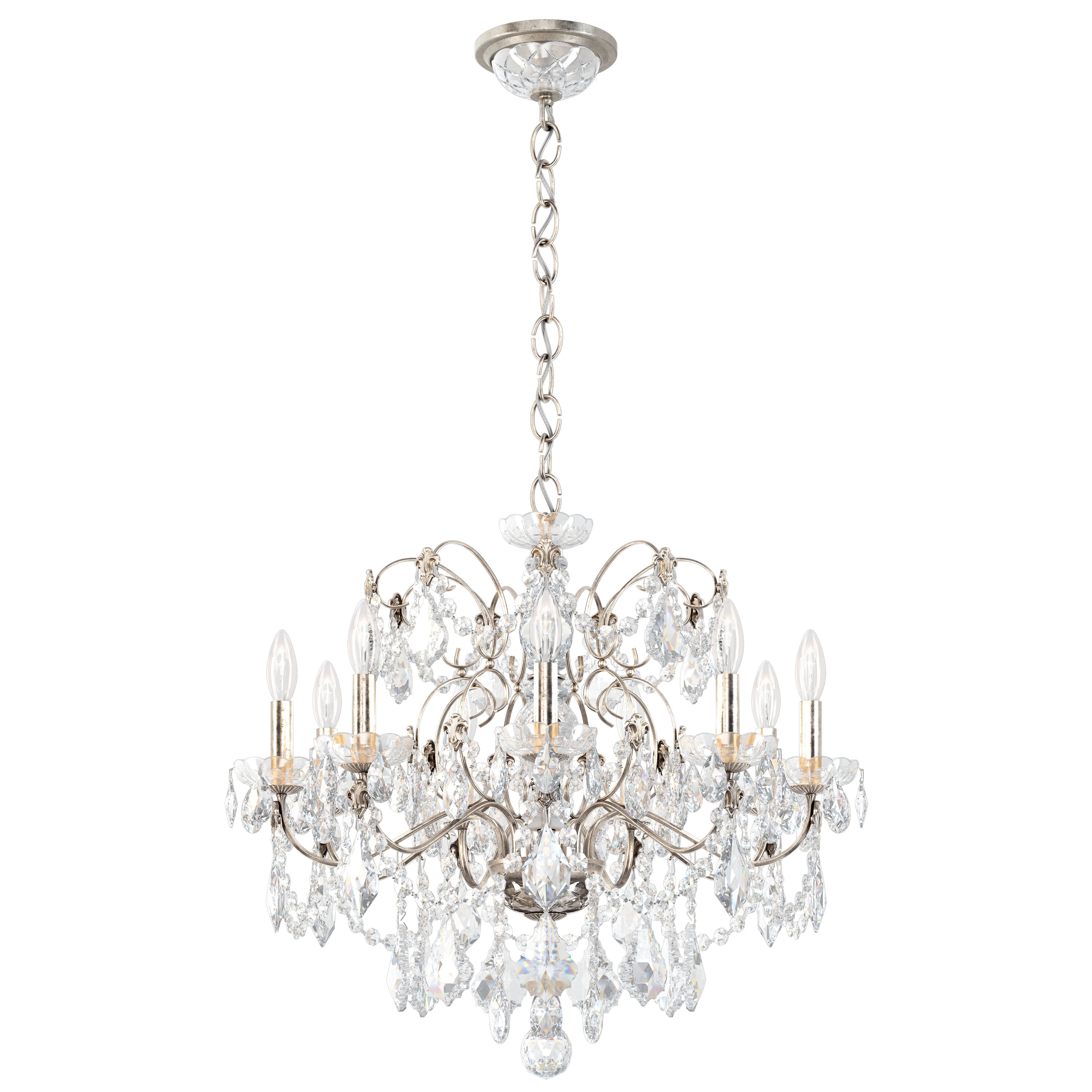 Schonbek Century 9 Light Candle Style Classic Traditional Chandelier Perigold