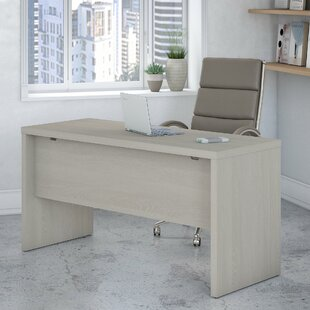 Echo 60 W Desk Shell by Kathy Ireland Office Bush Savings
