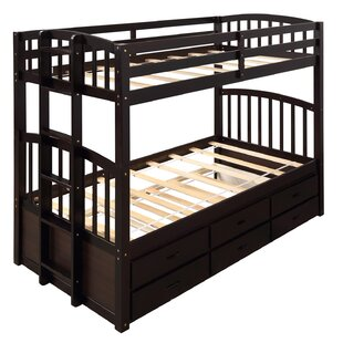 Vance Twin over Twin Bunk Bed with Trundle by Harriet Bee