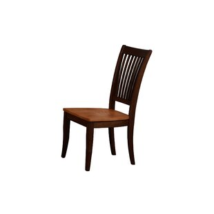Garden Grove Solid Wood Dining Chair (Set of 2) Alcott Hill