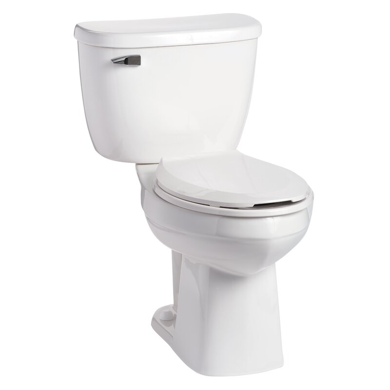 Quantumone Pressure Ist 1 6 Gpf Elongated Two Piece Toilet Seat Not Included