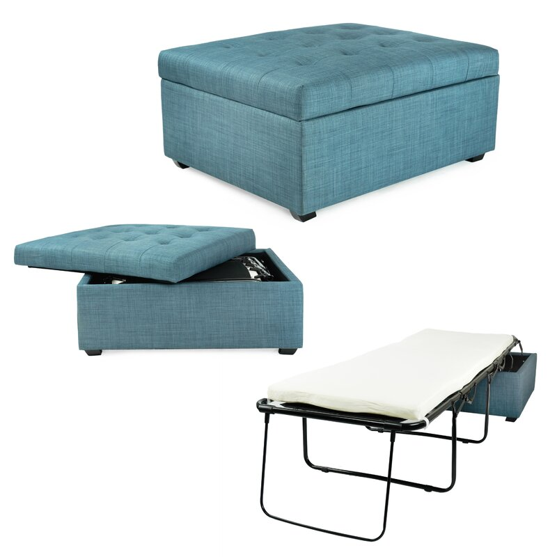 What Is An Ottoman corner housewares ibed convertible ottoman guest bed & reviews