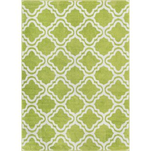 Reviews Juliet Calipso Lime Green Area Rug By Viv + Rae