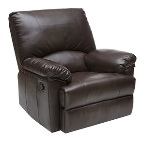 Manual Rocker Recliner  sc 1 st  Wayfair : leather chairs recliners - islam-shia.org