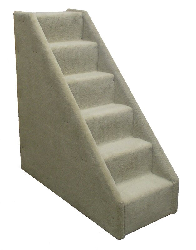 Elegant Bearu0027s Stairs™ Mini Carpeted 6 Step Pet Stair